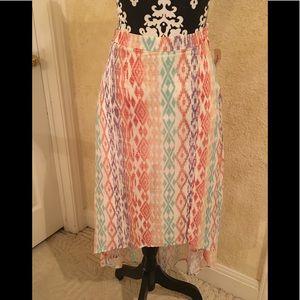 NWT Forever 21 Tribal Print skirt